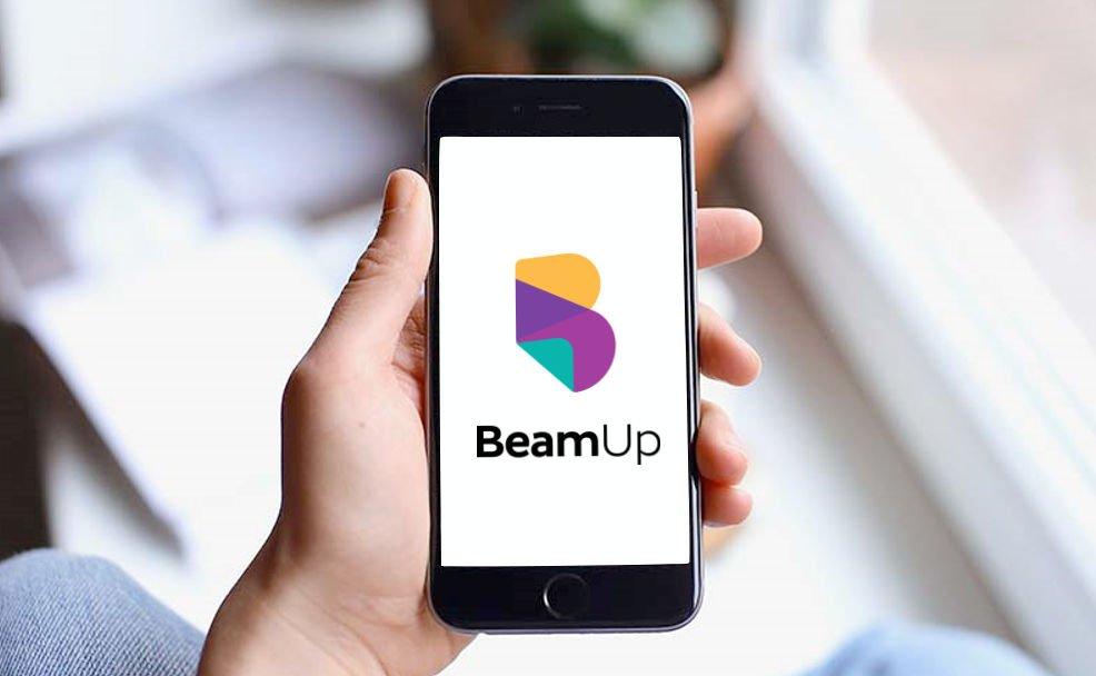 BeamUp aplikacja