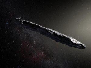 Oumuamua kosmici w Układzie Słonecznym