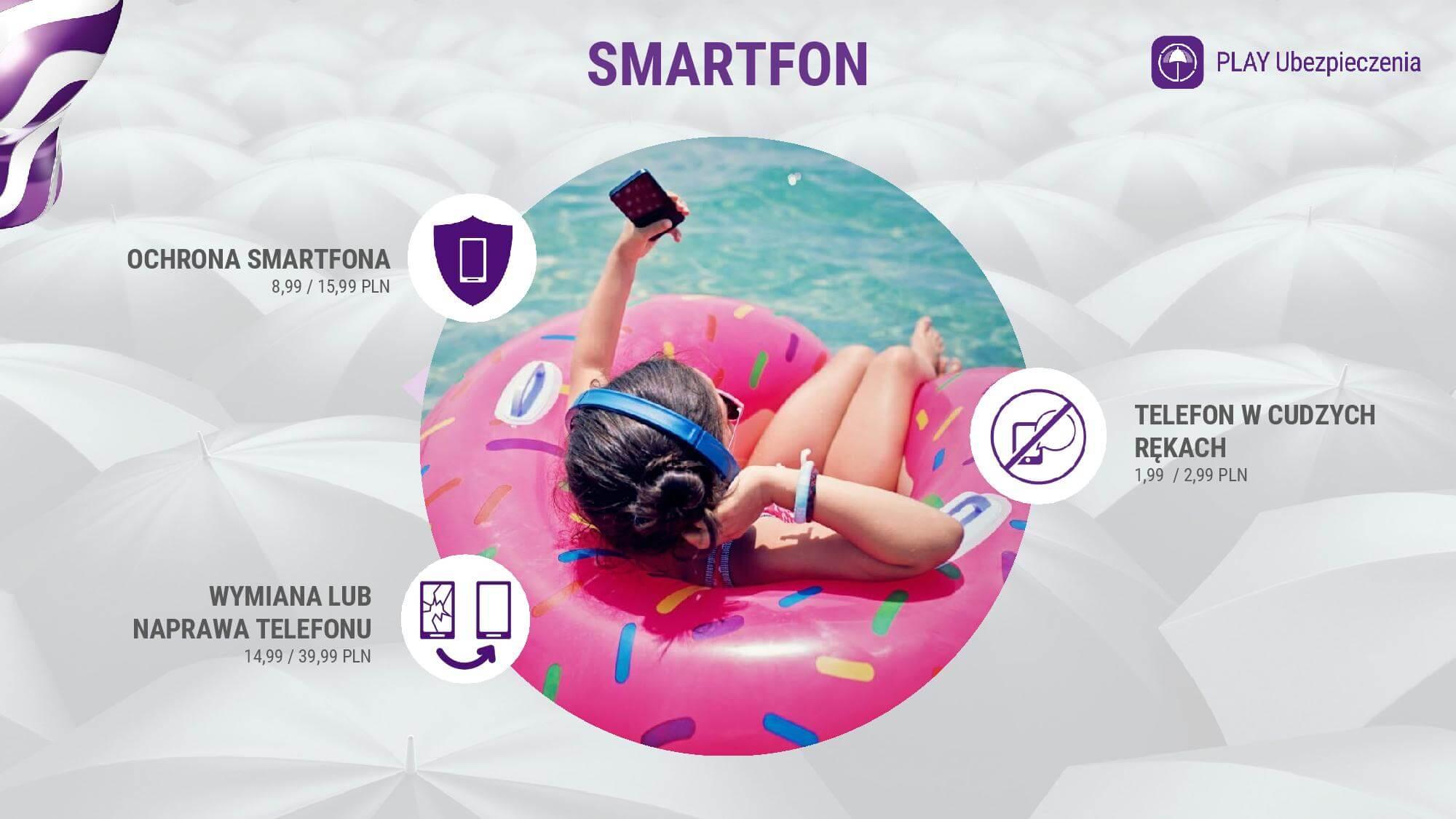 Play Ubezpieczenia smartfon