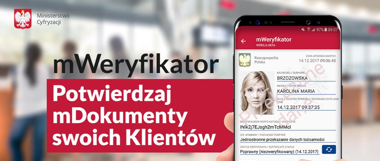 mWeryfikator - dane do kontaktu z biznesem