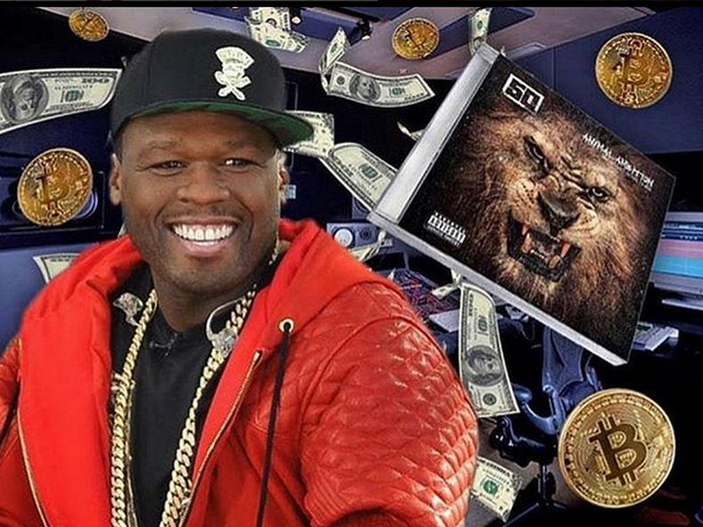 50 Cent pochwalił się na Instagramie swoim sukcesem. Na sprzedaży albumu Animal Ambition zarobił prawie 9 milionów dolarów, dzięki Bitcoinowi.