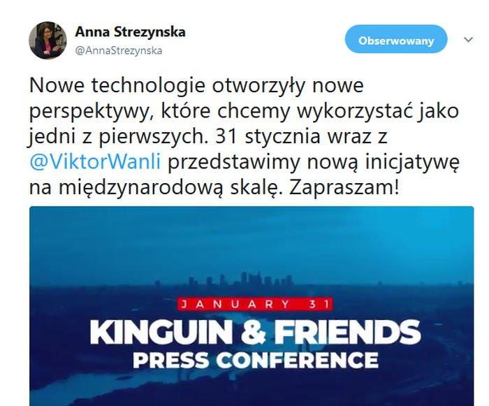 Anna Streżyńska obejmie stanowisko w nowej firmie z branży e-sportu