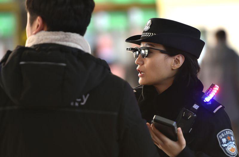 Inteligentne okulary do łapania przestępców