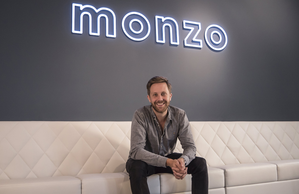 Tom Blomfield - CEO i założyciel Monzo Bank.
