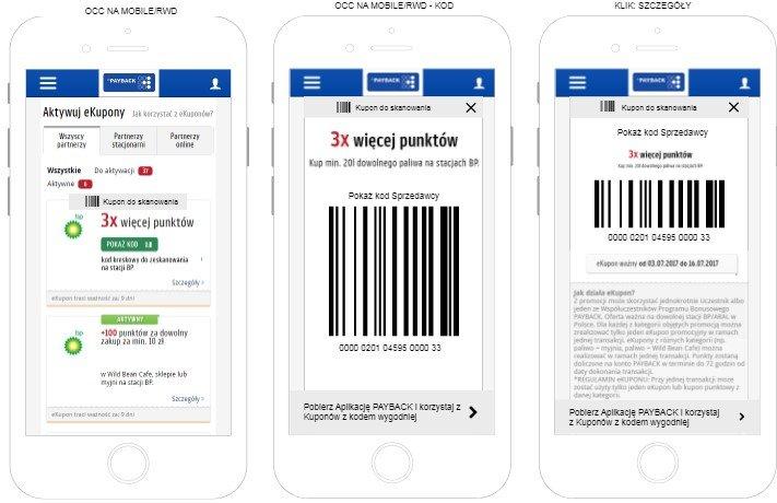 Payback kupony mobilne i cyfrowe na stacjach BP