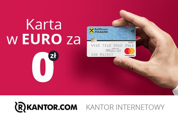 Rkantor i Raiffeisen Polbank prezentują darmową kartę walutową