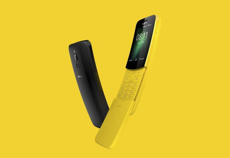 Powraca legendarna Nokia 8110 w wersji 4G.