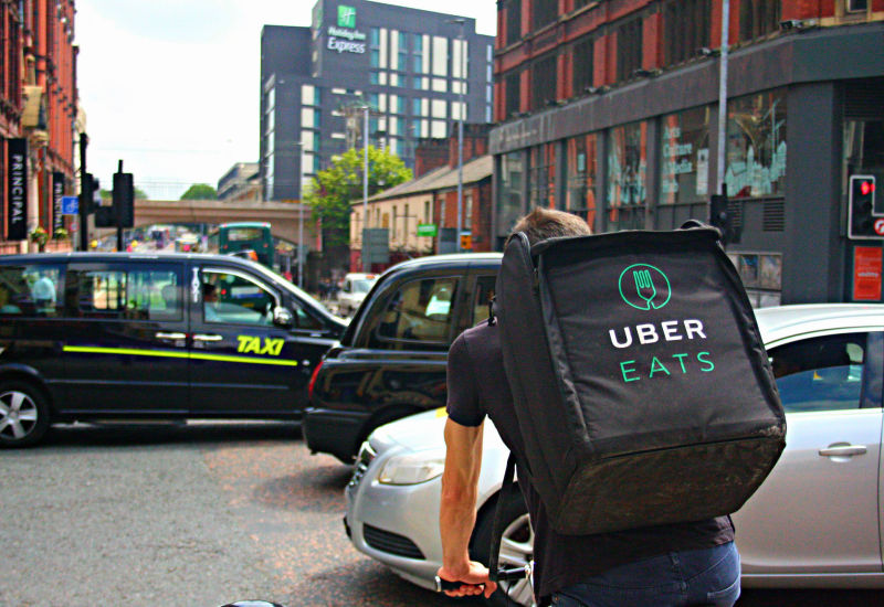 Odważne plany ekspansji Uber Eats.