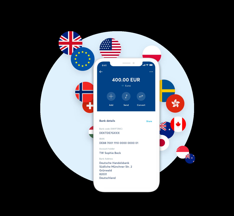 TransferWise i globalne konto bez granic - można przechowywać i wymieniać ponad 40 rodzajów walut