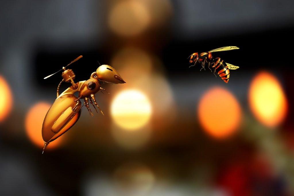 Pszczoły-roboty opatentowane przez Walmart