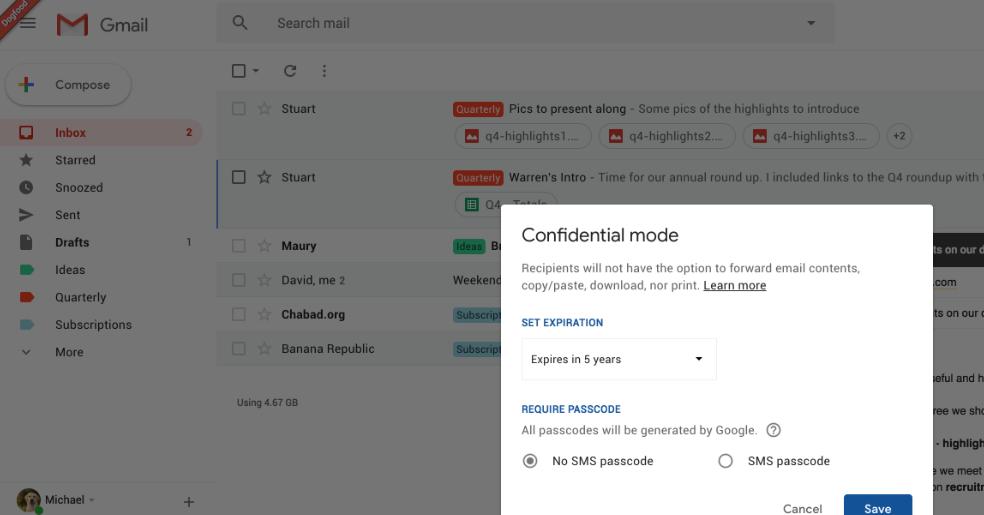 expiring-gmail