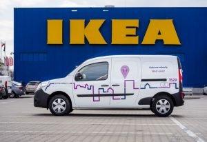 Samochody dostawcze na minuty w kolejnych polskich miastach