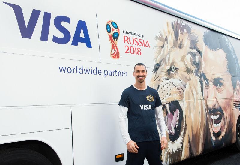 Visa szykuje powrót Zlatana Ibrahimovicia na Mistrzostwa Świata w Rosji