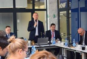 Pierwsze spotkanie Grupy roboczej ds. blockchain i kryptowalut w KNF. Źródło: KNF