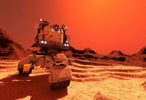 NASA odkryła życie na Marsie