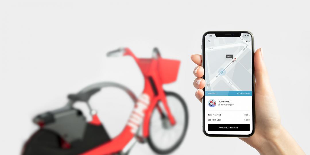 Elektryczne rowery Jump w aplikacji Ubera - jak to działa