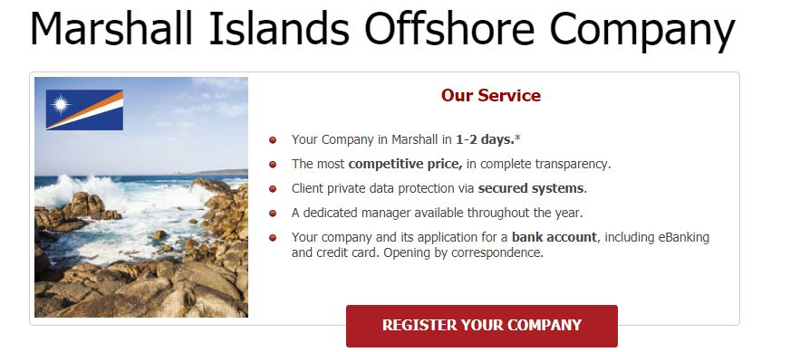 Wyspy Marshalla - firma