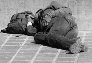Bezgotówkowe datki dla bezdomnych