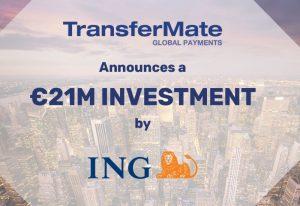 ING wykłada 21 milionów euro na irlandzki fintech