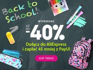 Wyprawka szkolna na AliExpress? Rusza akcja promocyjna PayU