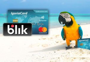 Nowa oferta IgoriaCard. Doładowanie BLIKIEM i pierwsza karta gratis
