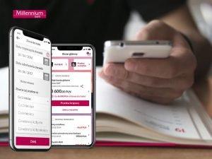 Nowości w aplikacji Banku Millennium