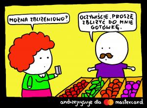Andrzejrysuje dla Mastercard_Zbliżeniowo