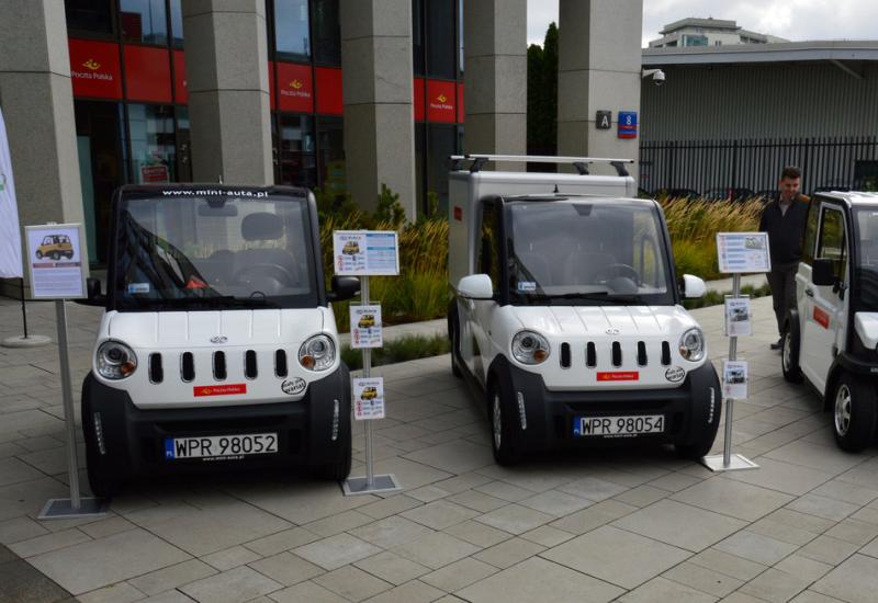 Listonosze już jeżdżą elektrycznymi samochodami