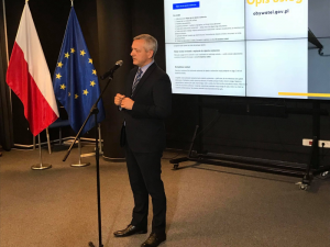 Marek Zagórski, Ministerstwo Cyfryzacji