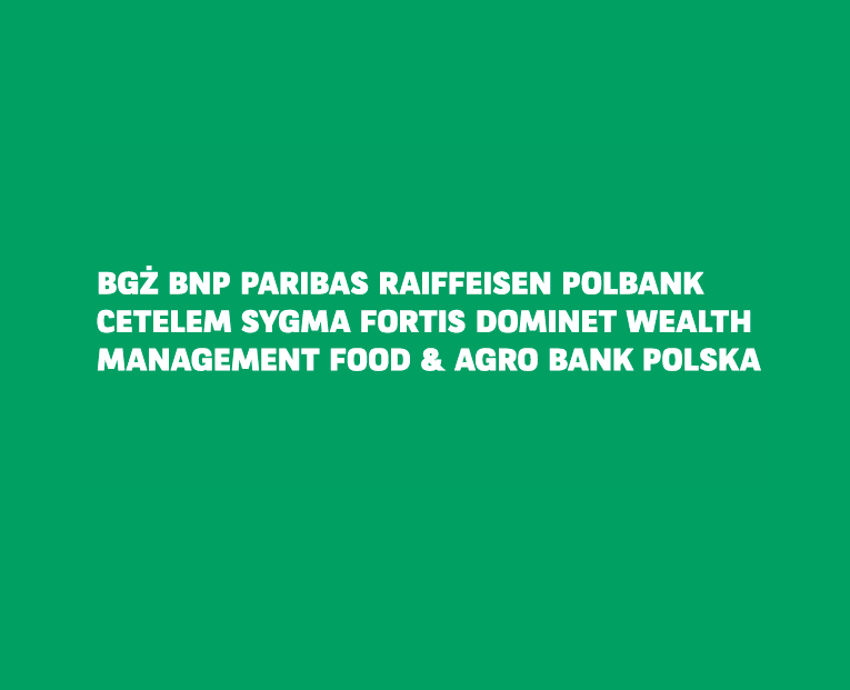 4c885ac8c3163e Rebranding marki BGŻ BNP Paribas w Polsce nastąpi najprawdopodobniej 11  grudnia. Ma on na celu ujednolicenie rodzimej nazwy z obowiązującym brandem  grupy na ...