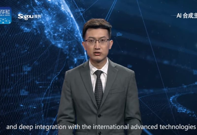 Chiński prezenter
