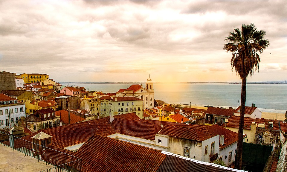 Lizbona-o-zachodzie-słońca