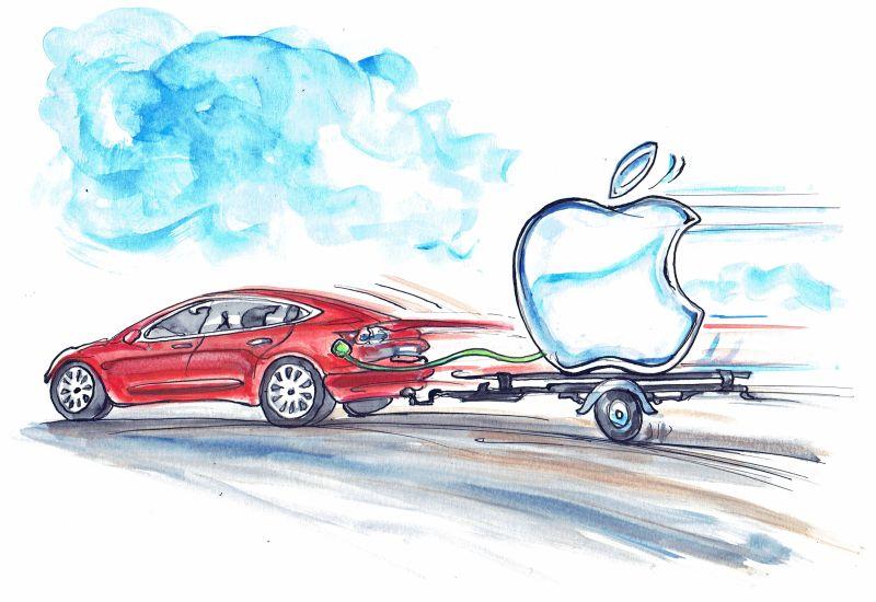 Apple przejmie Teslę? To nie jest kolejny żart Elona Muska