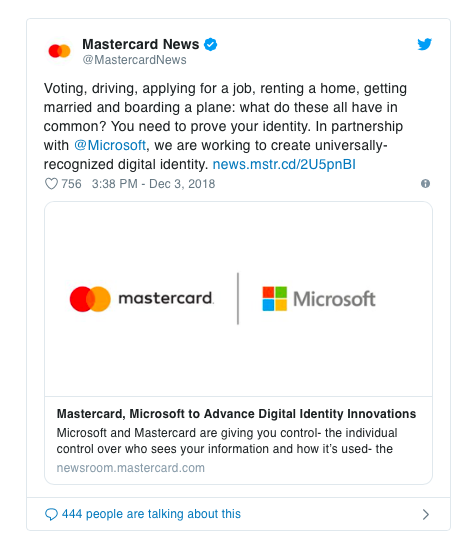 MastercardMicrosoft