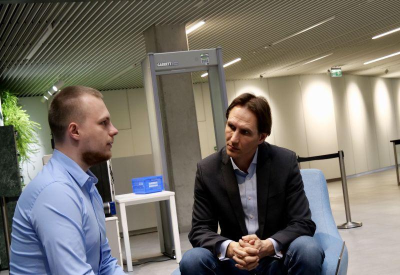 Marius Jurgilas, Bank Litwy wywiad