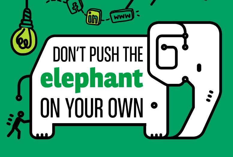 Don't push elephant