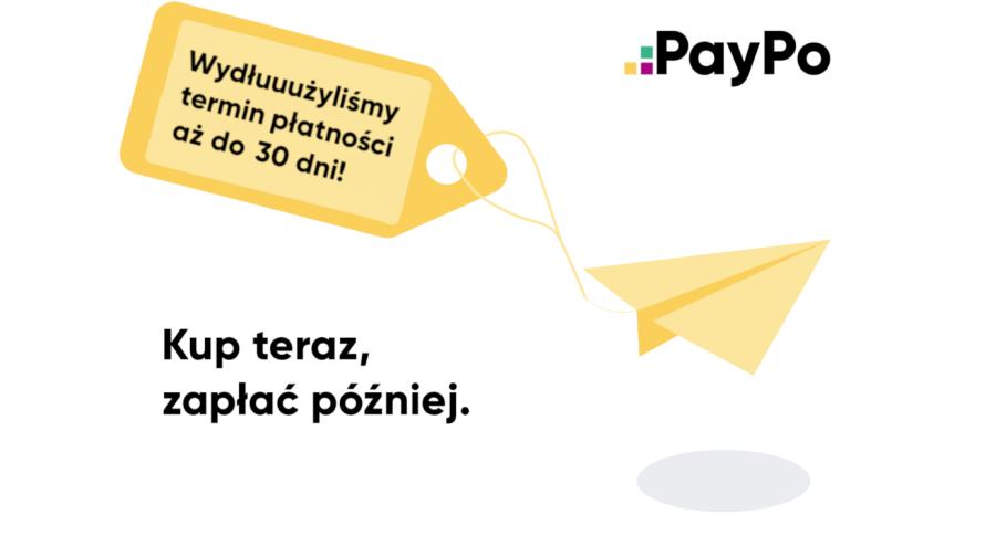 30 dni zamiast 21. PayPo wydłuża czas spłaty