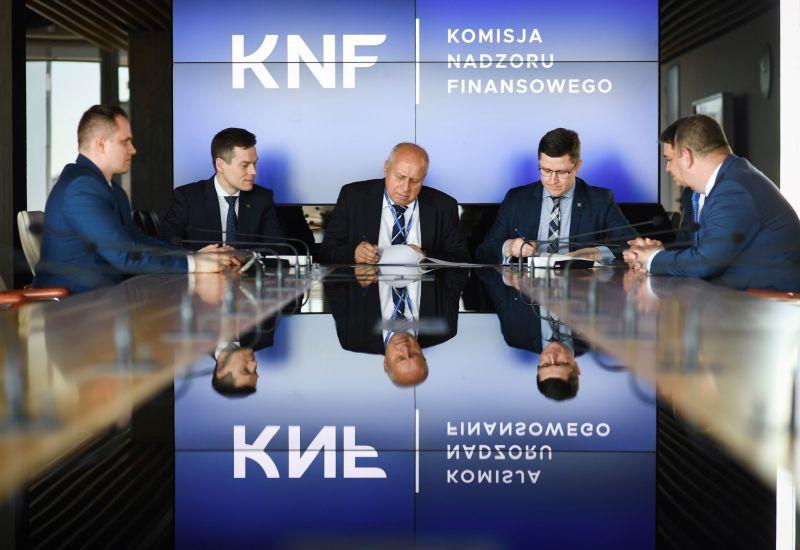 KNF będzie wspierał rozwój technologii blockchain