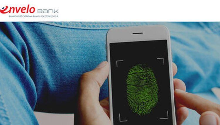 Biometria w aplikacji EnveloBanku