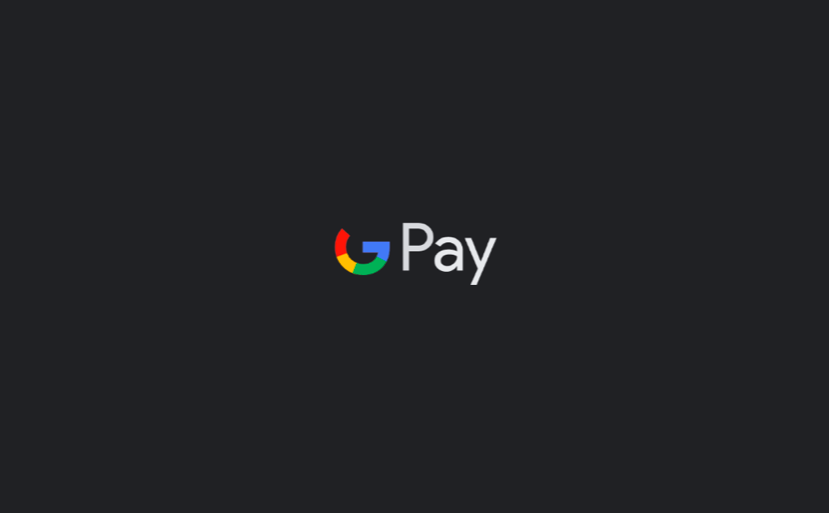 Google Pay - dark mode