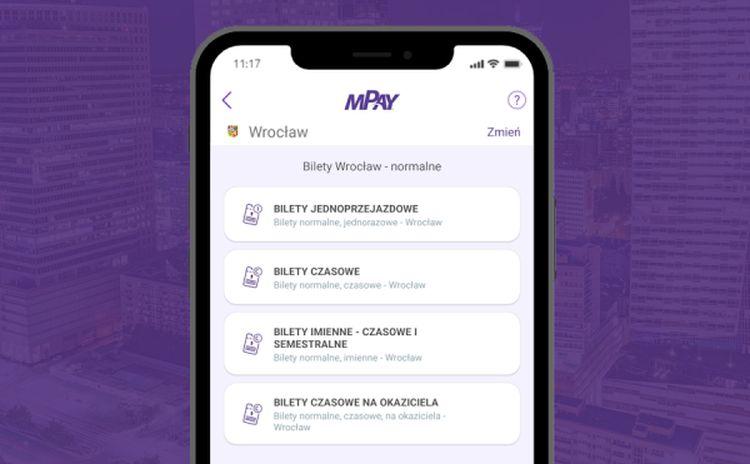 Nowości w aplikacji mPay. Bilety we Wrocławiu