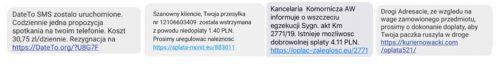 Fałszywe SMS-y BNP Paribas