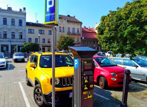 Parkomaty Bielsko Biała