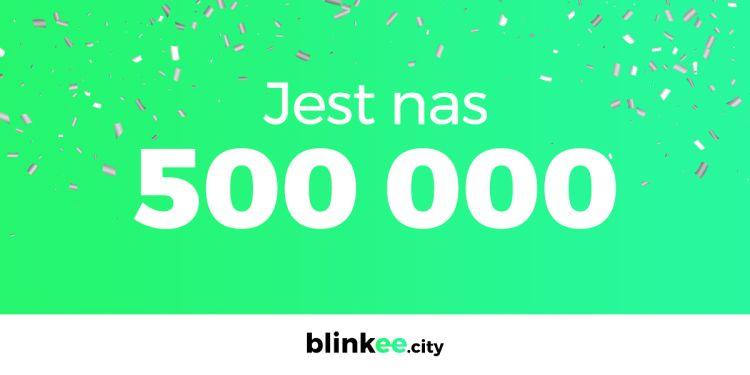 Blinkee.city ma już pół miliona użytkowników