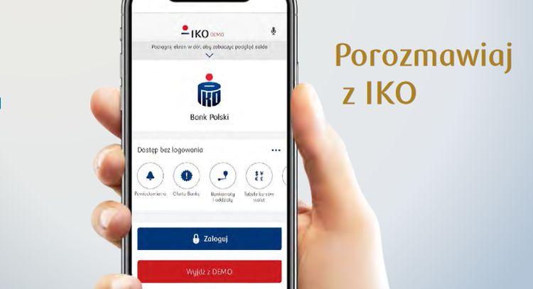 Asystent głosowy w aplikacji IKO i platforma do sprzedaży aut. Nowa strategia PKO BP