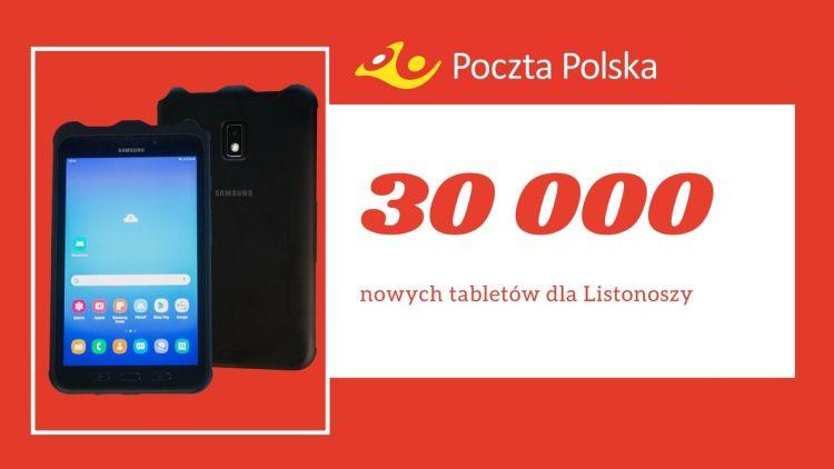 Poczta Polska wyposaży listonoszy w nowe tablety za 116 mln złotych
