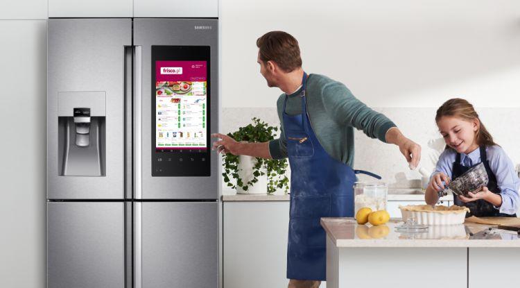 Kup lodówkę Samsung Family Hub i odbierz 1 tys. zł na zakupy w Frisco.pl
