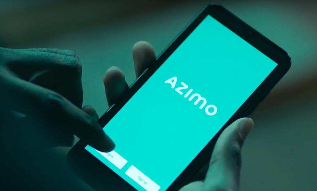 Azimo - aplikacja mobilna