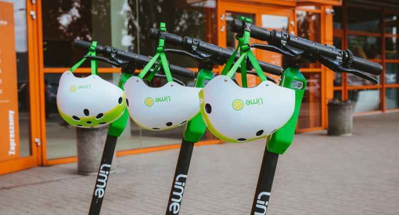 Lime celebruje 5 milionów przejazdów w Polsce i udostępnia kody na darmowe przejazdy