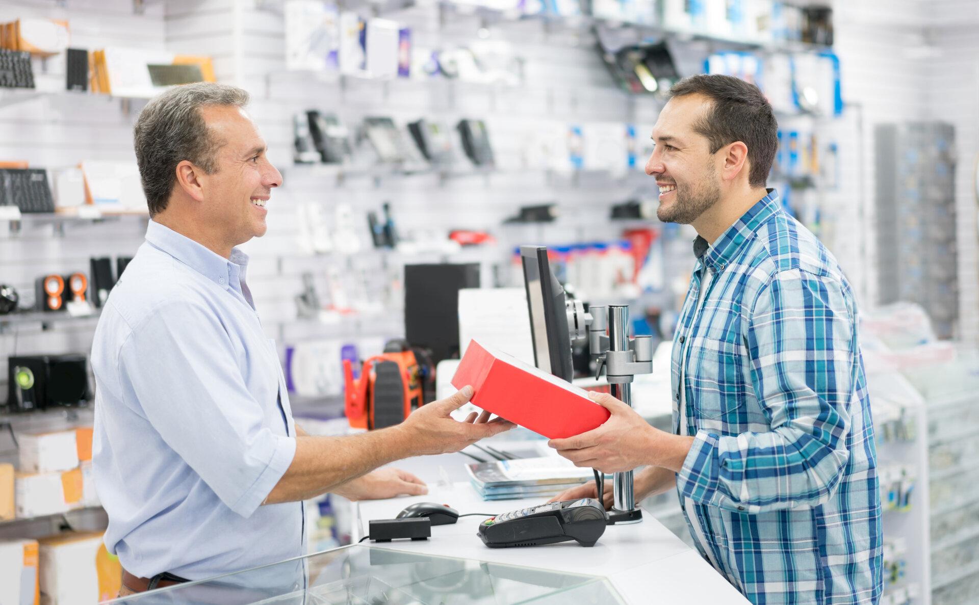 Zakupy w sklepie technicznym